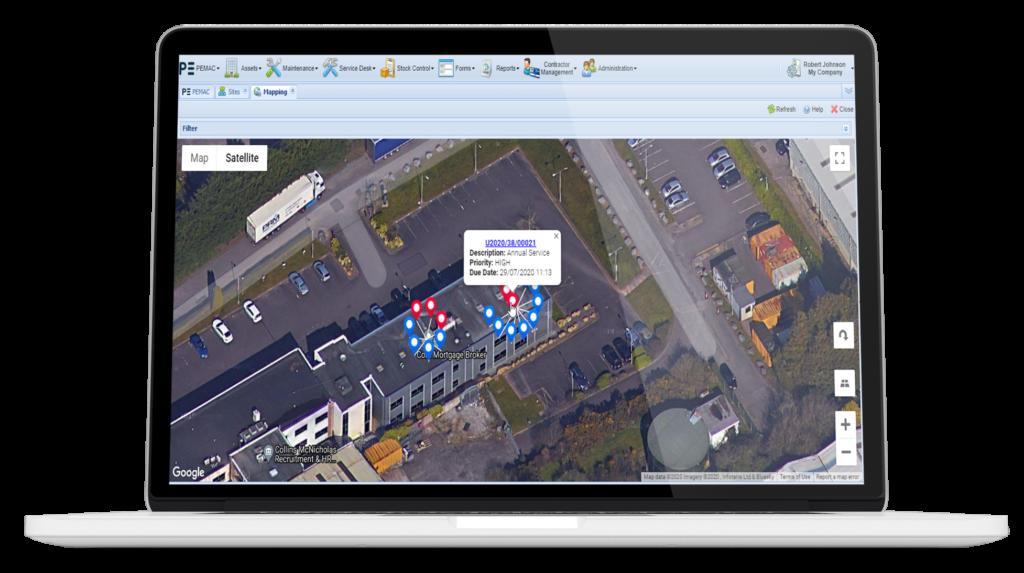 Google Maps Pemac
